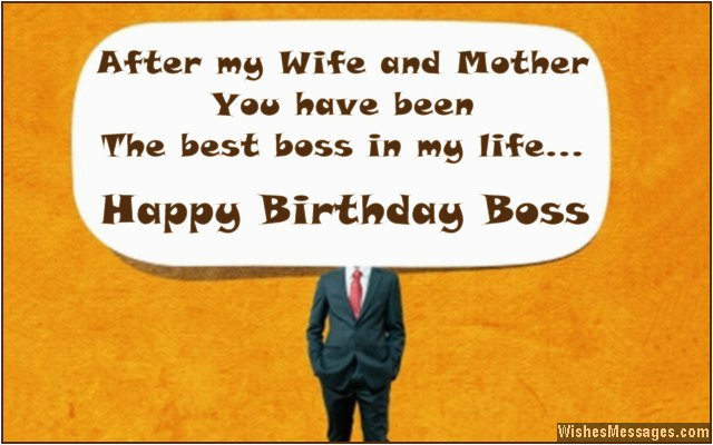 funny birthday quotes for your boss
