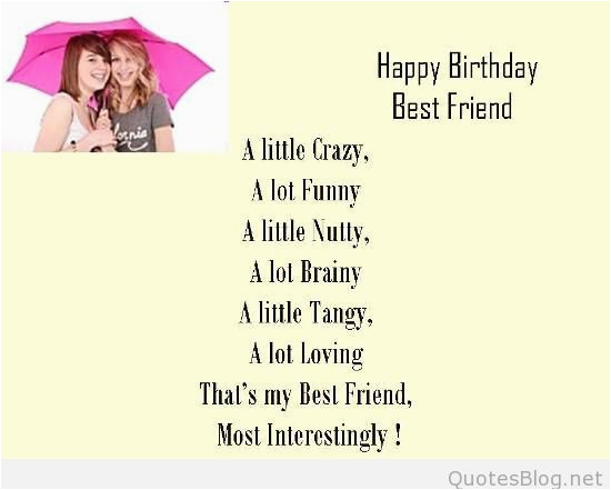 Funny Happy Birthday Quotes for Your Best Friend Birthday Wishes for Best Friend