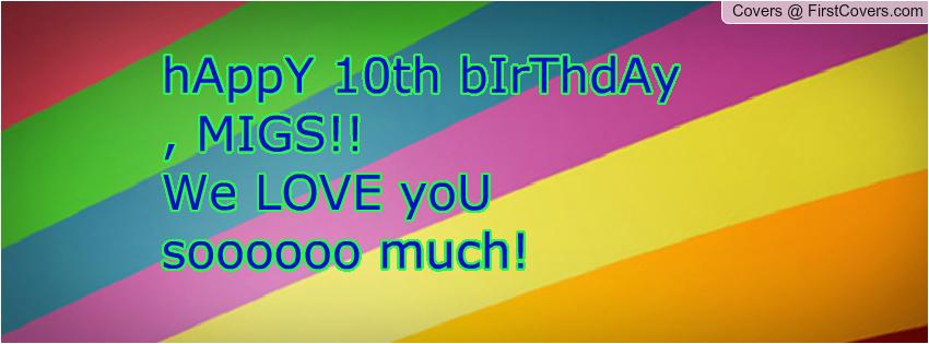 happy 10th birthday quotes