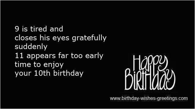 happy 10th birthday son quotes