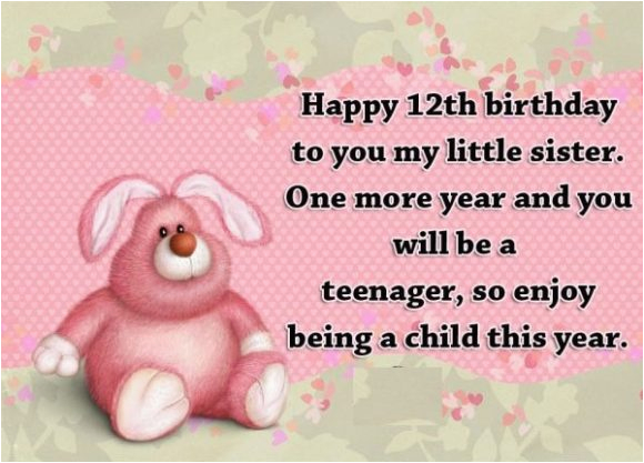 happy 12th birthday wishes for twelve year old