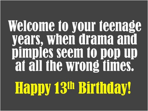 13th birthday wishes what to write in a 13th birthday card