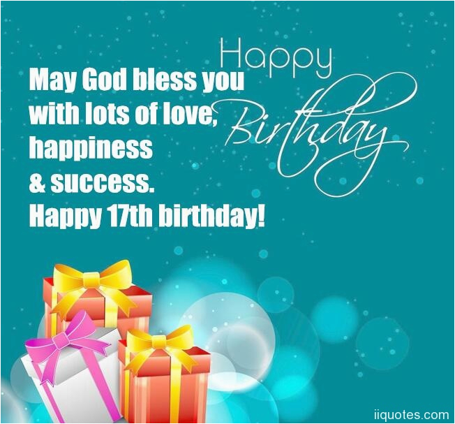 17 birthday wishes