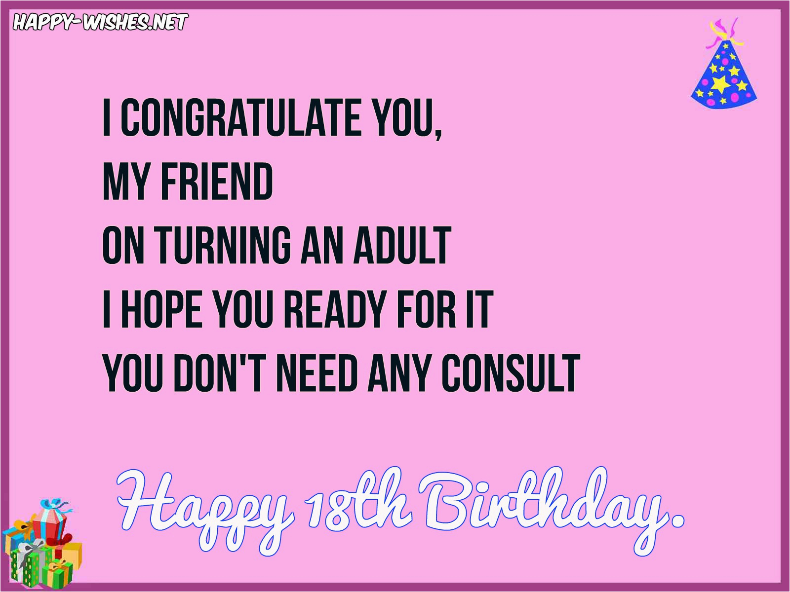 happy birthday 18th wishes quotes messages images
