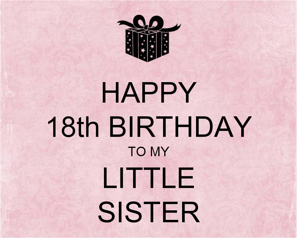 18th 20birthday 20wishes 20for 20sister