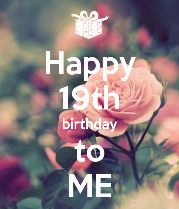 happy birthday 19th