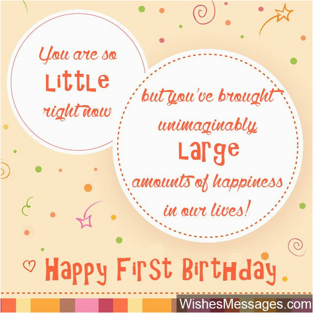 first birthday wishes
