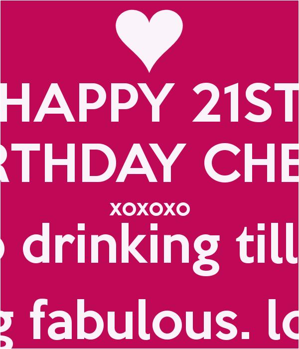 Happy 21 Birthday Quotes Funny | BirthdayBuzz