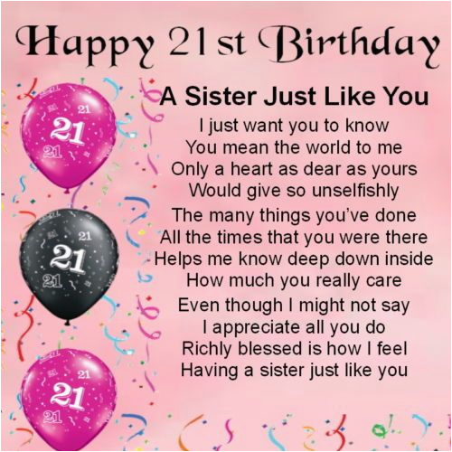 Happy 21st Birthday Little Sister Quotes 38 Best Images About 21st Birthday Sister Quotes On