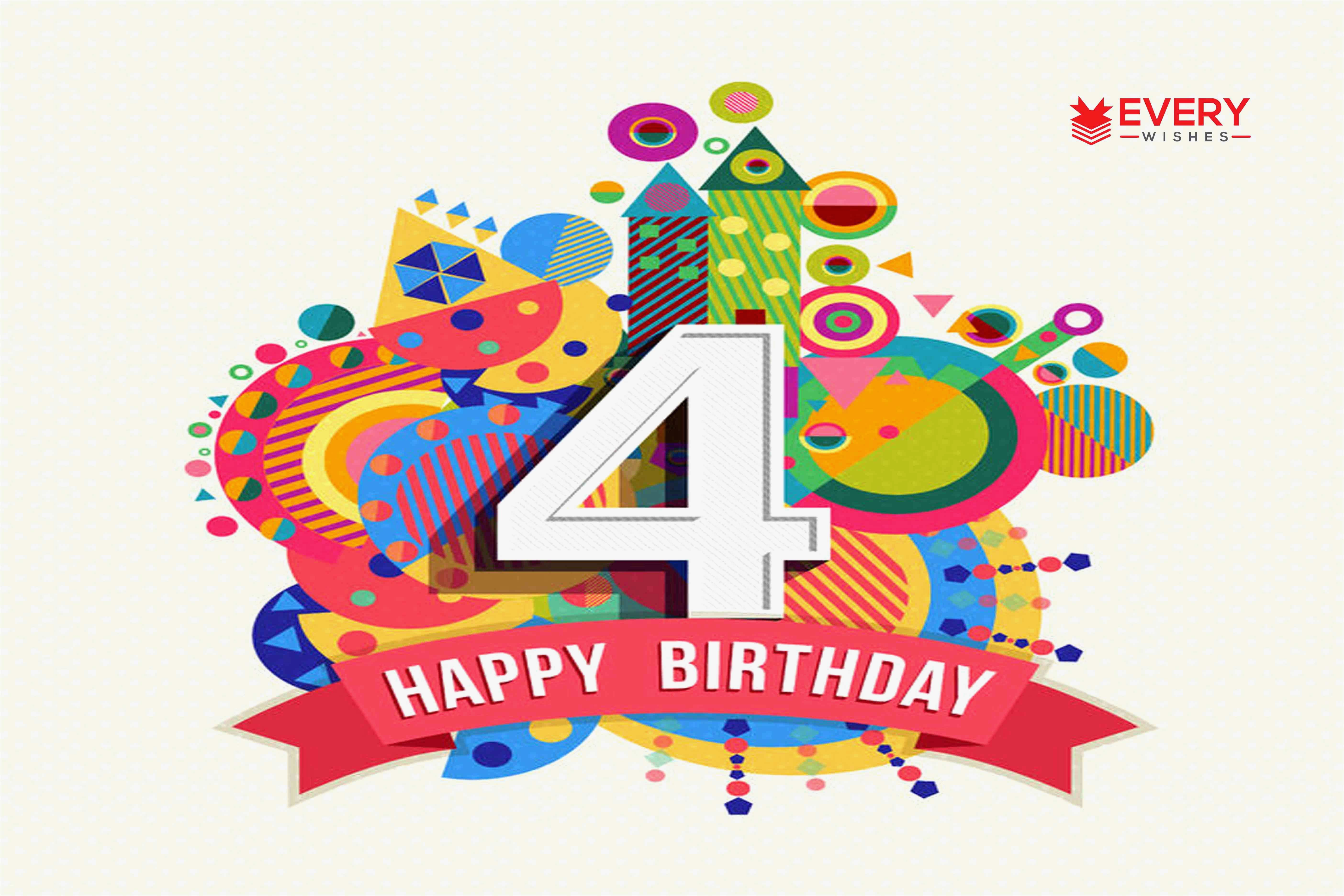 happy birthday cards for my son lovely happy 4th birthday 4th birthday wishes happy 4th birthday