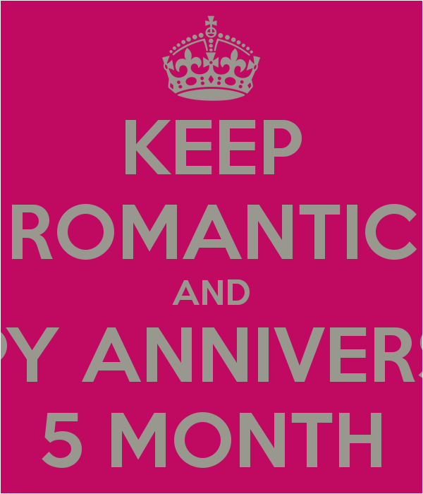 5 month anniversary quotes