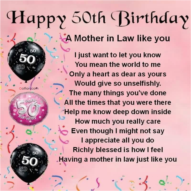 Happy 50th Birthday Mom Quotes 60 Beautiful Birthday Wishes for Mother In Law Best