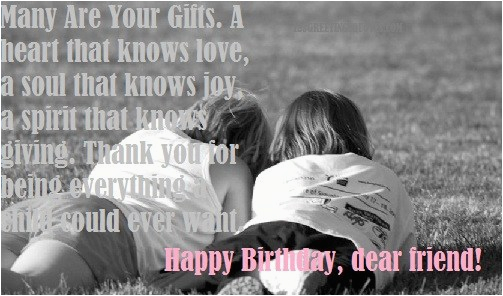 birthday quotes for best friend best happy bday greetings