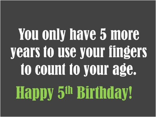 5th birthday messages wishes quotes and poems
