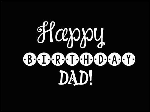 happy birthday dad wishes