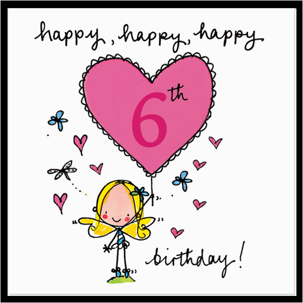 happy happy happy 6th birthday
