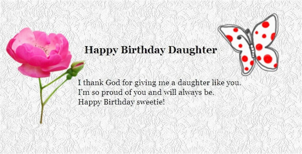 happy birthday wishes to my daughter from parents