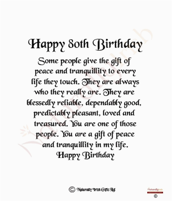 80th birthday quotes for mother