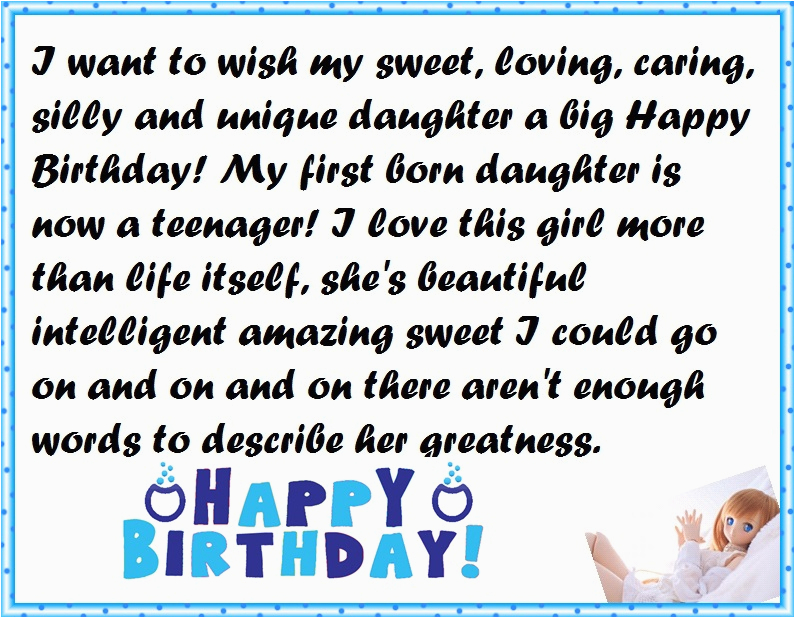 Happy 9th Birthday to My Daughter Quotes Mother to Daughter Birthday