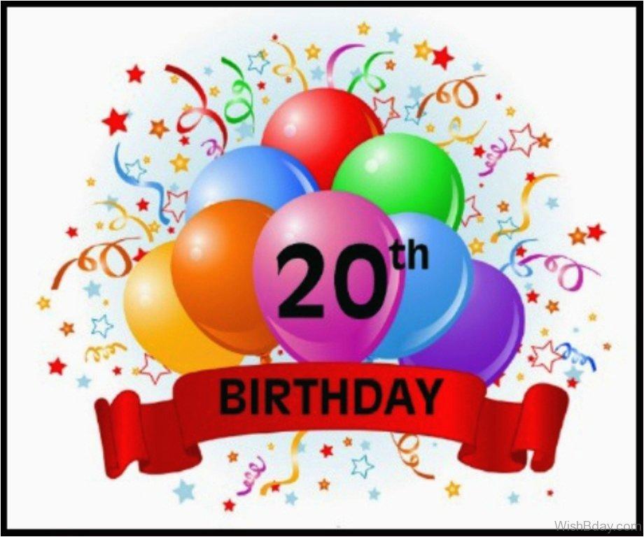 40 20th birthday wishes