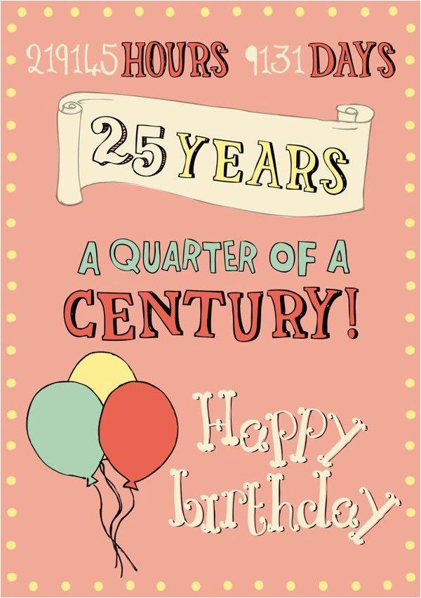 happy 25th birthday