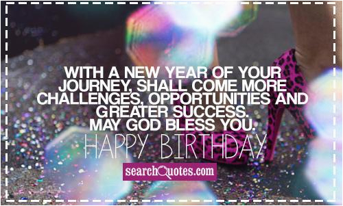 Happy Birthday And God Bless You Quotes May God Bless You Quotes