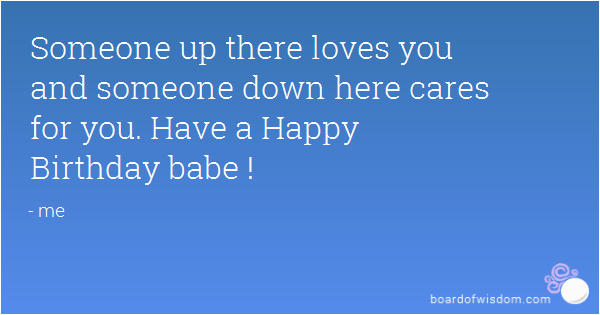 happy birthday babe quotes
