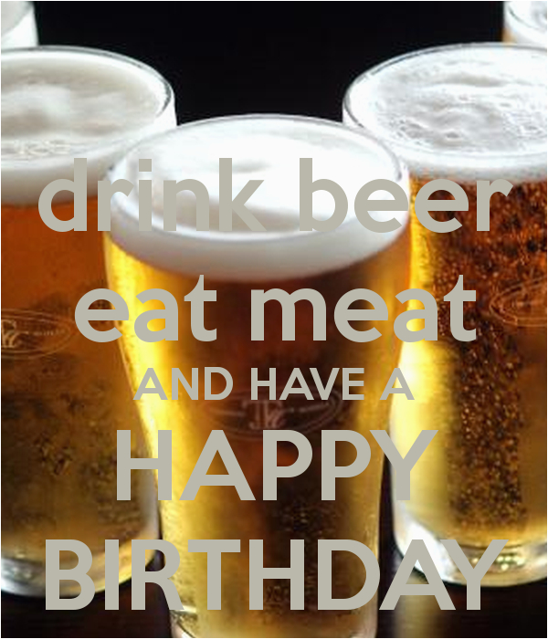 happy birthday beer quotes