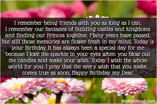 long time friend birthday quotes