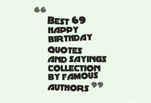 birthday quotes from famous authors