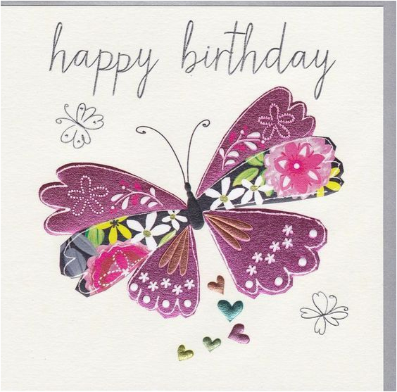 Happy Birthday butterfly Quotes Happy Birthday Purple butterfly Pictures Photos and