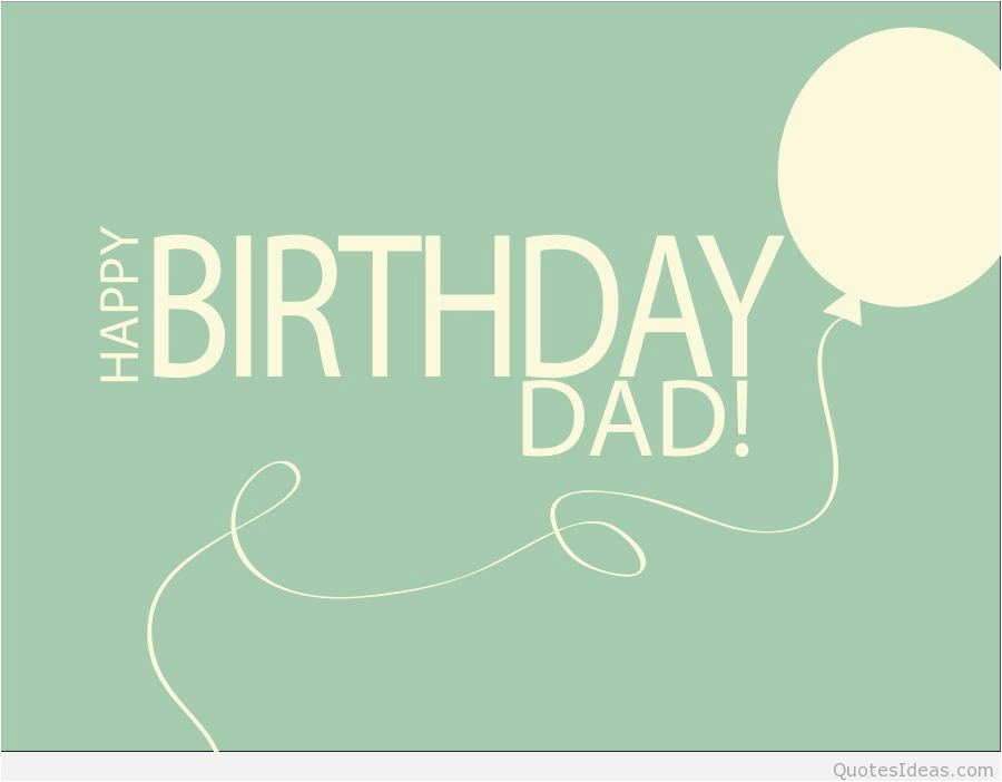 happy birthday dad quotes sayings