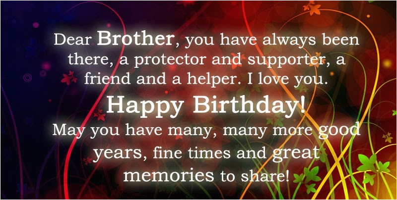 happy birthday brother wishes images quotes