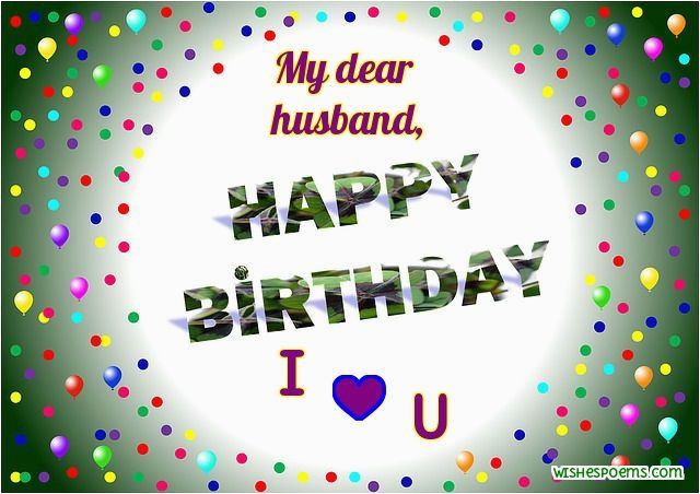 beautiful happy birthday cards for husband from wife