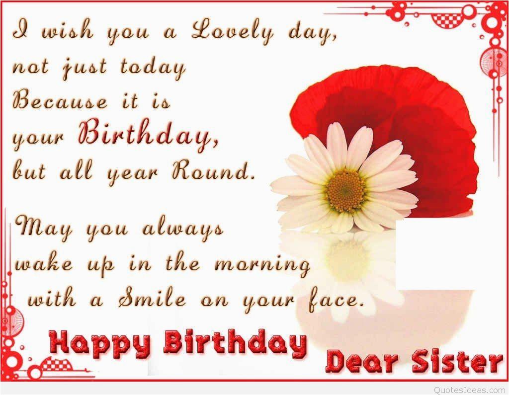 happy birthday 2c dear sister
