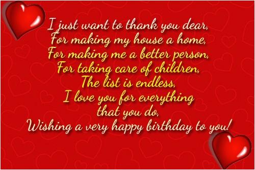 38 wonderful wife birthday wishes quotes image
