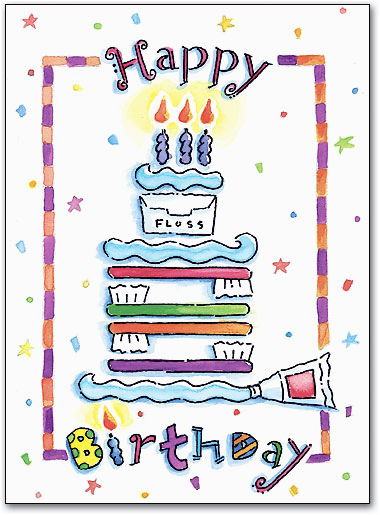 category cn dental birthday postcards wide variety of fun designs id 406510 m spd