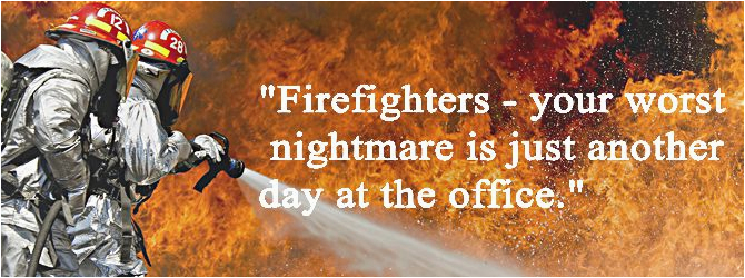 firefighter birthday quotes