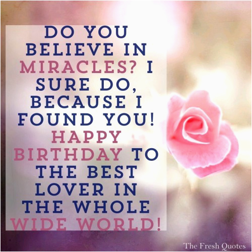 love romantic birthday wishes