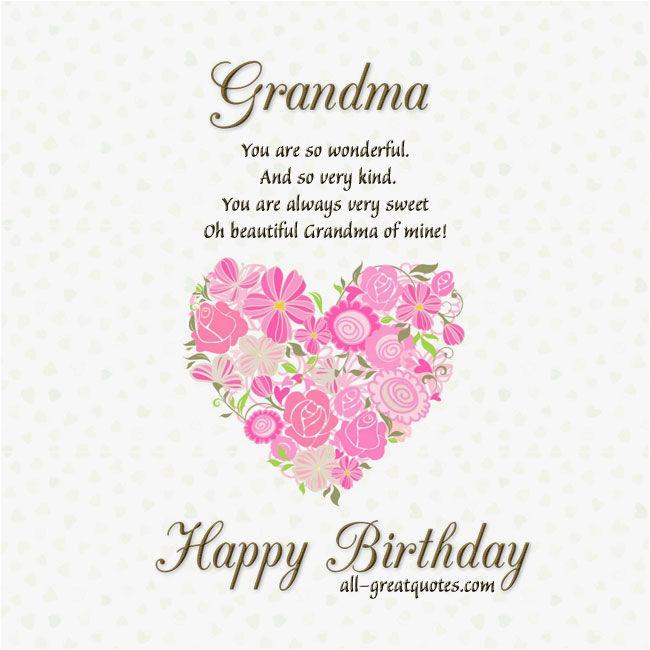 grandma happy birthday