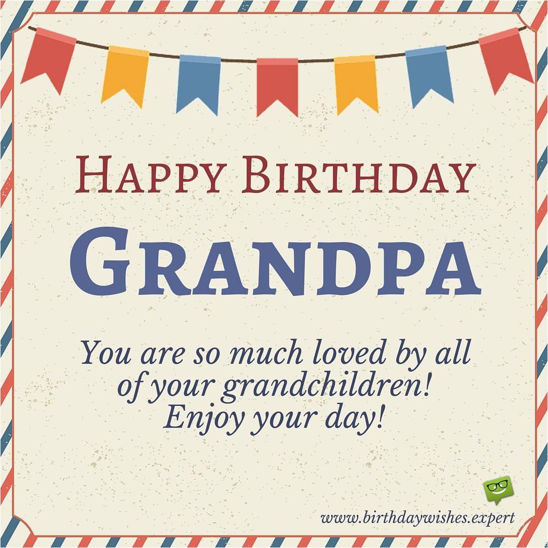 happy birthday grandpa