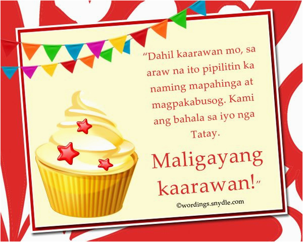 Happy Birthday Greetings Quotes Tagalog | BirthdayBuzz