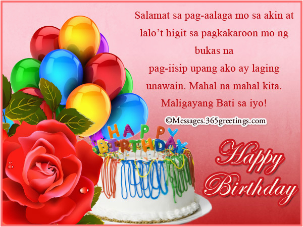 tagalog birthday wishes