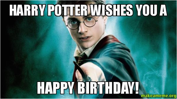 harry potter birthday quotes