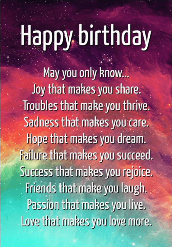 Encouraging Birthday Wishes And Famous Quotes