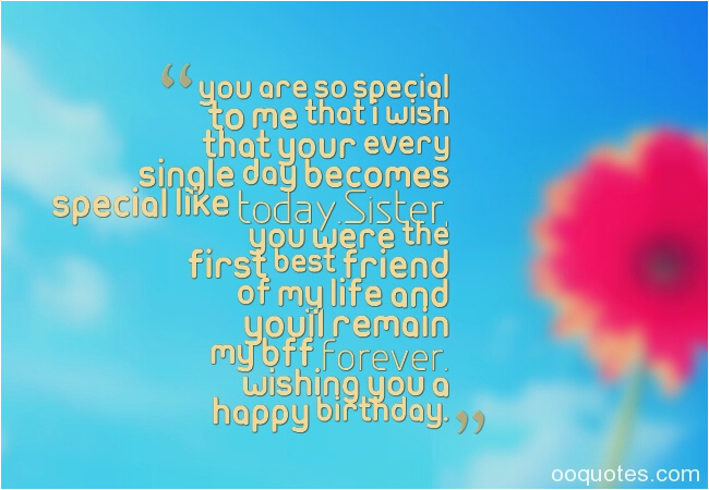 happy birthday quotes for sister best friend