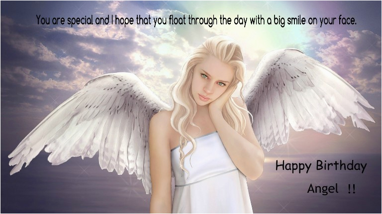 happy birthday angel quotes poems pictures