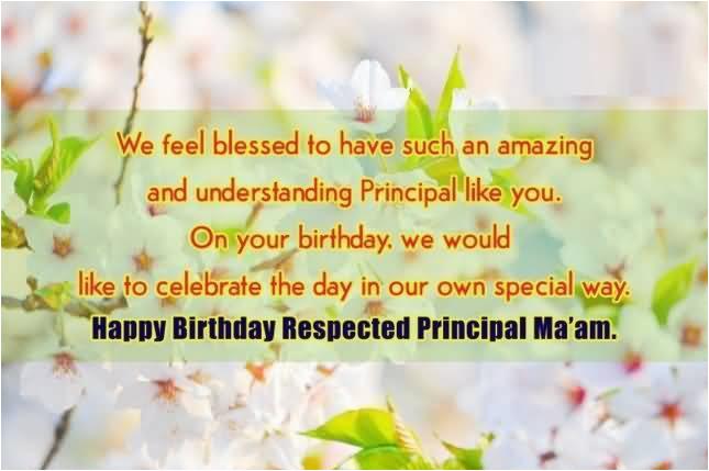 43 meaningful principal birthday wishes