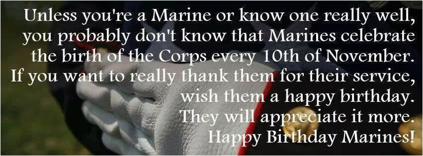 marine birthday quotes
