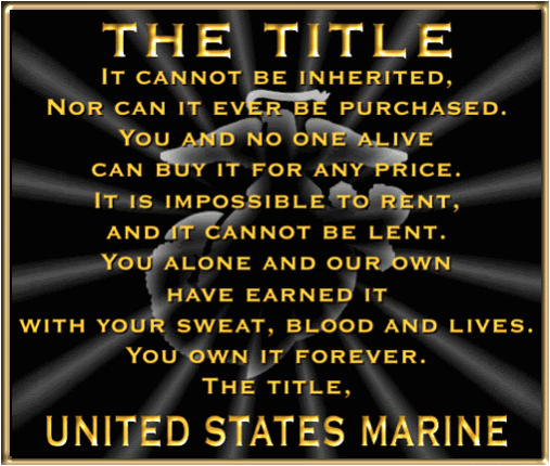 marine corps sister quotes
